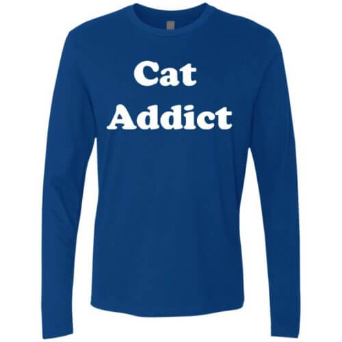 Cat Addict Premium Long Sleeve Tee