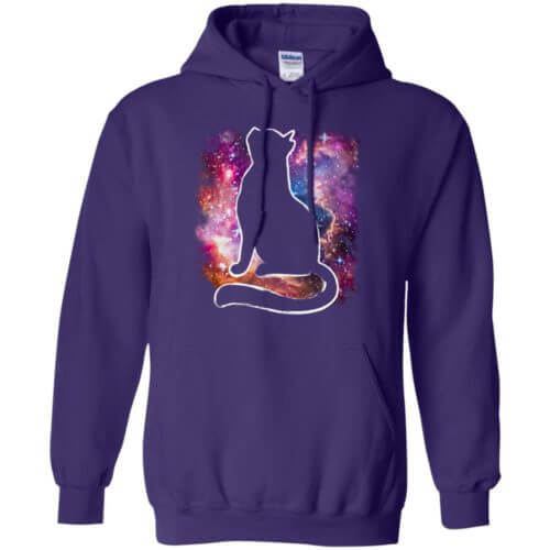 Universe Cat Pullover Hoodie