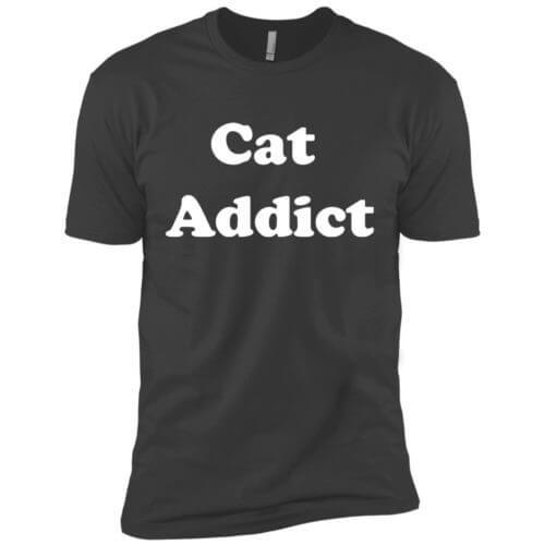 Cat Addict Premium Tee