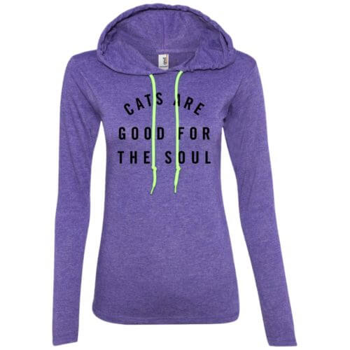 Cats Are Good Fitted T-Shirt Hoodie