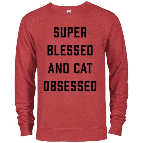 Blessed & Obsessed Premium Crew Neck Sweatshirt