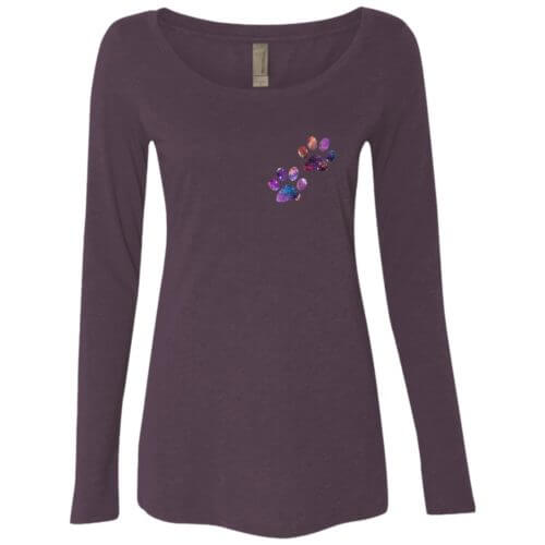 Paw Universe Fitted Scoop Neck Long Sleeve