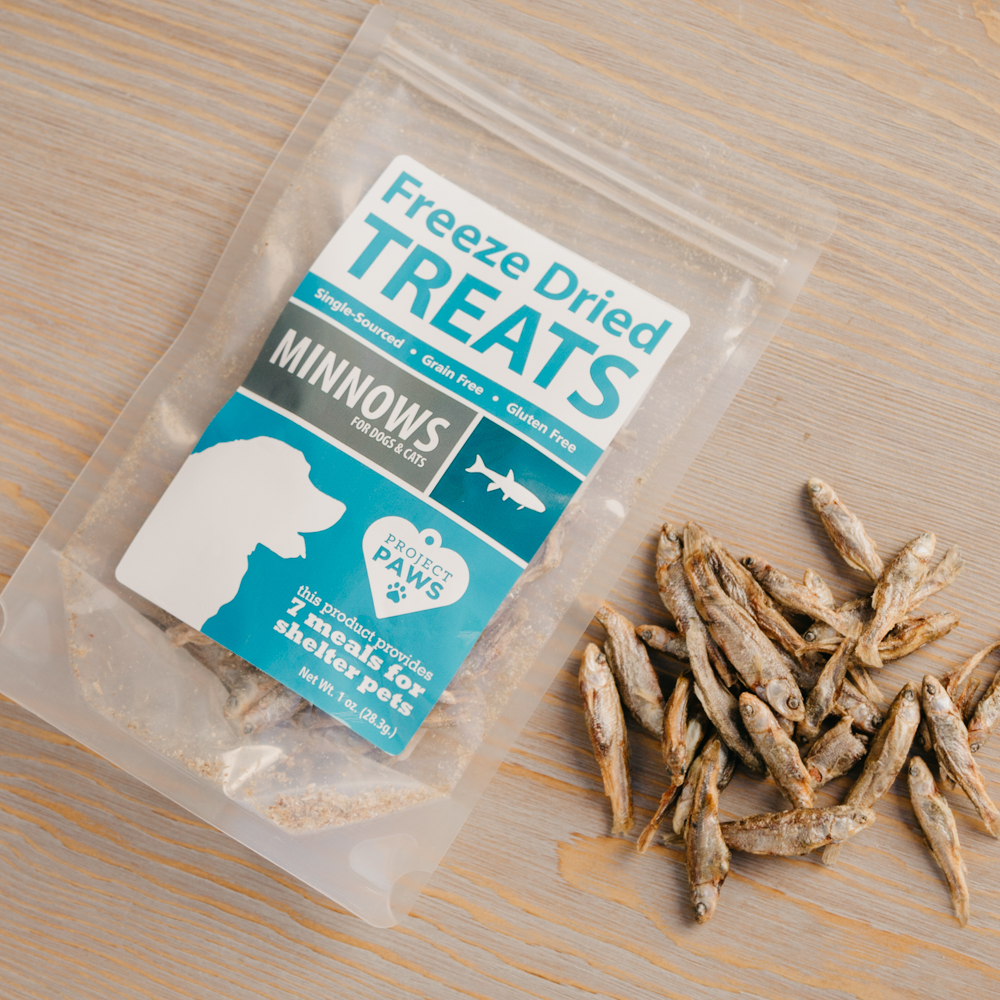 Single Ingredient Minnows Freeze Dried Treats Iheartcats Com