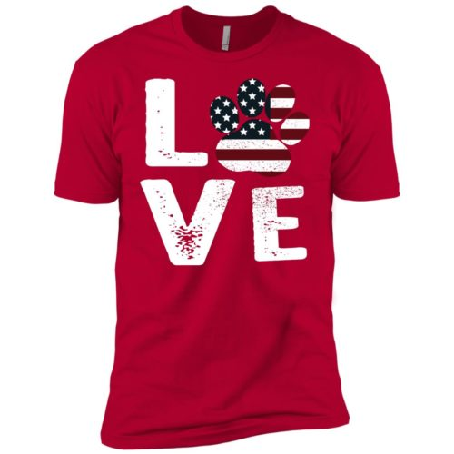 Love Paw USA Boys' Premium Tee
