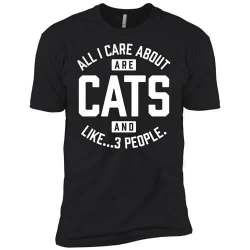 Cats And 3 People Boys' Premium Tee