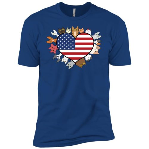 Heart Cat USA Boys' Premium Tee