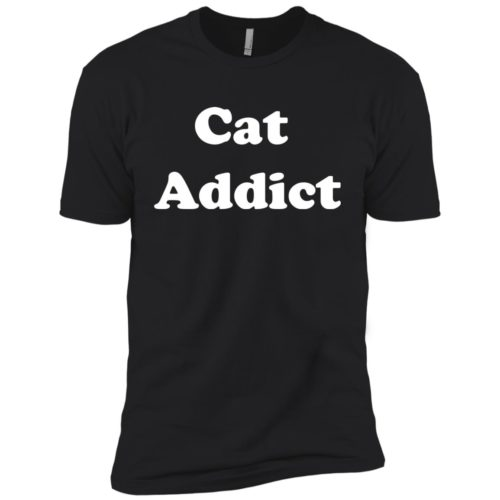 Cat Addict Boys' Premium Tee