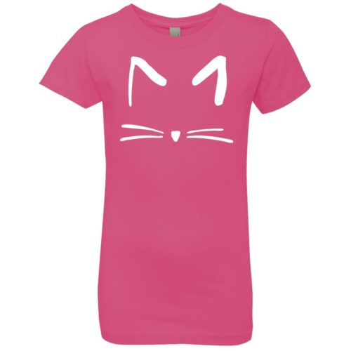 Cat Sketch Girls' Premium T-Shirt