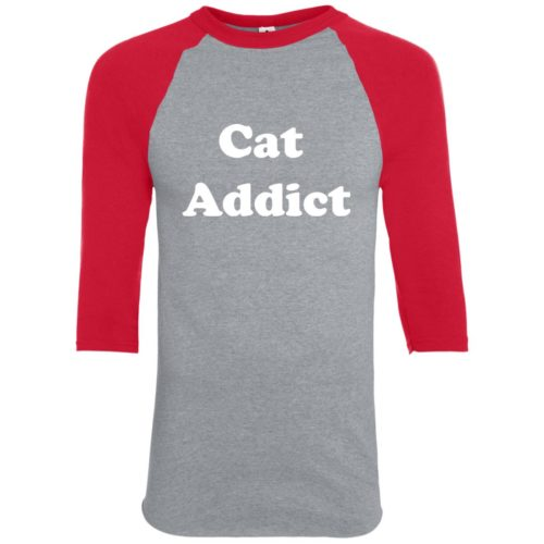 Cat Addict Youth Colorblock 3/4 Sleeve Shirt