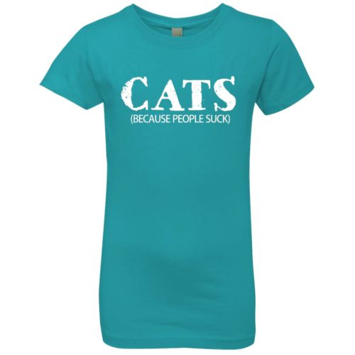Cat Addict Girls' Premium Tee