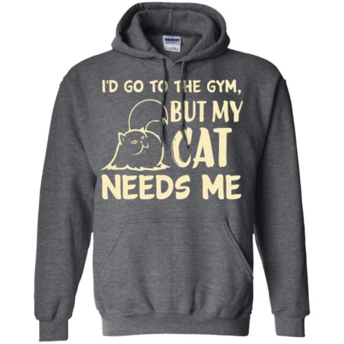 Go To The Gym Pullover Hoodie