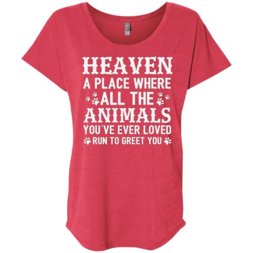 Heaven Ladies' Slouchy T-Shirt