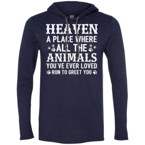 Heaven Lightweight T-Shirt Hoodie