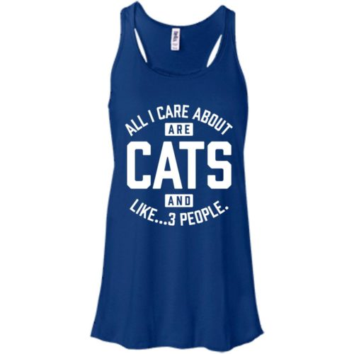 Cats and 3 People Bella Fashion Tank