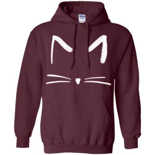 Cat Sketch Pullover Hoodie