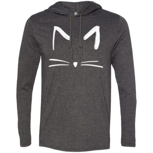 Cat Sketch T-Shirt Hoodie