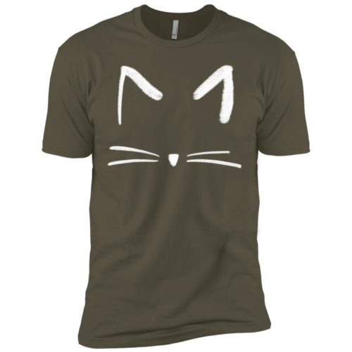Cat Sketch Premium T-Shirt