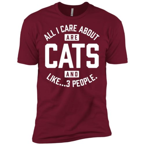 Cats and 3 People Premium Tee