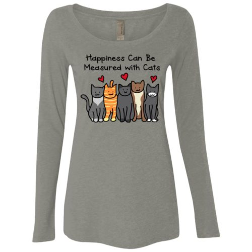 Happiness Ladies' Scoop Neck Long Sleeve Shirt