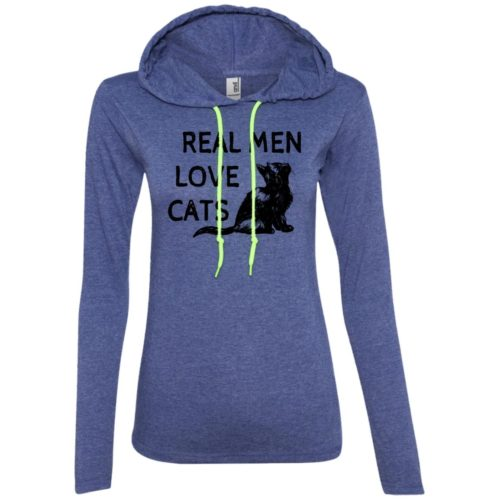 Real Men Love Cats Fitted T-Shirt Hoodie