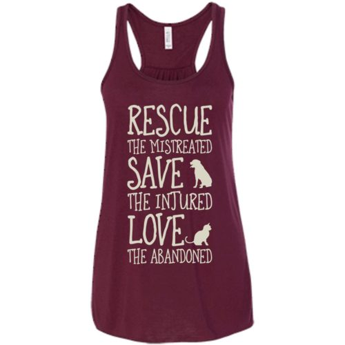 Rescue Them Flowy Tank