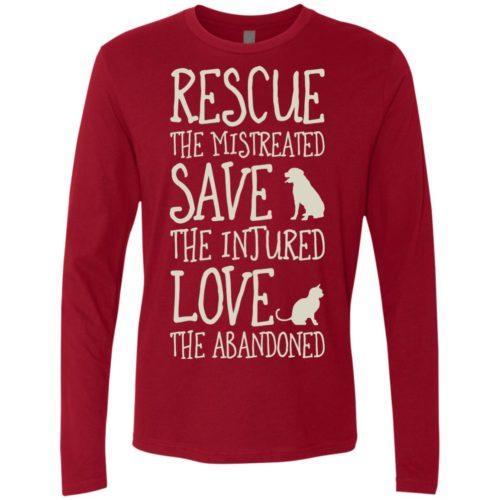 Rescue Them Premium Long Sleeve Shirt