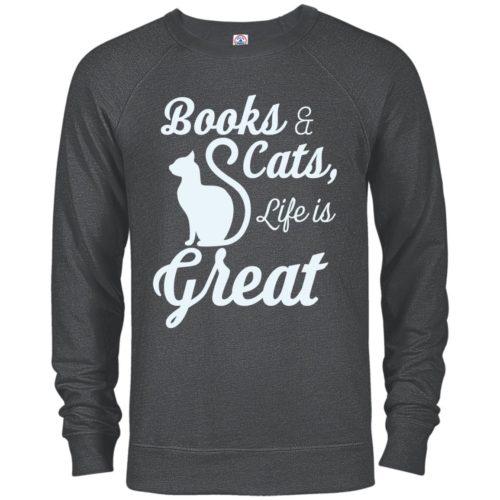 Life Is Great Premium Crew Neck Sweatshirt