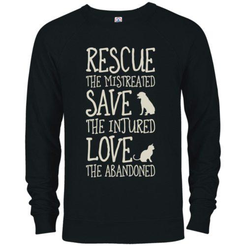Rescue Them Premium Crew Neck Sweatshirt