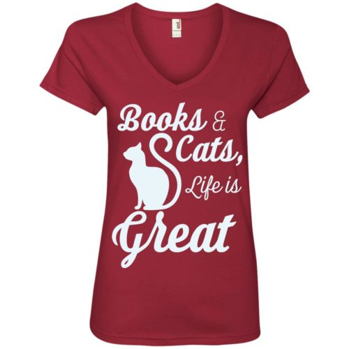 Life Is Great Ladies' Premium V-Neck