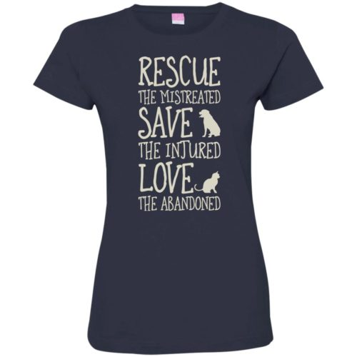 Rescue Them Ladies' Premium T-Shirt