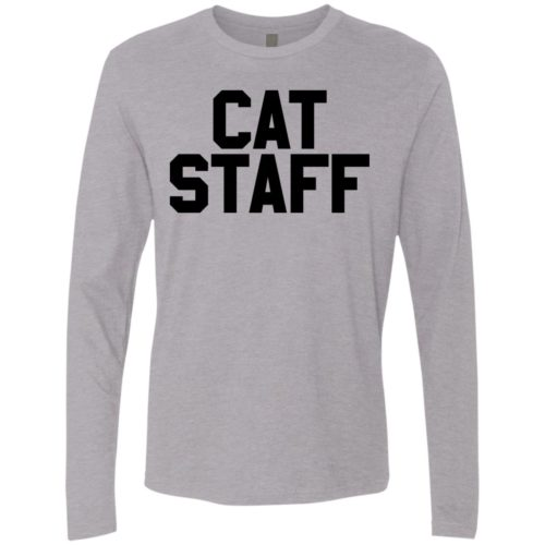 Cat Staff Premium Long Sleeve Tee