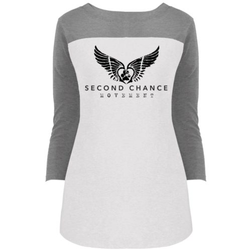 Second Chance Movement Colorblock 3/4 Sleeve