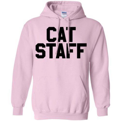 Cat Staff Pullover Hoodie