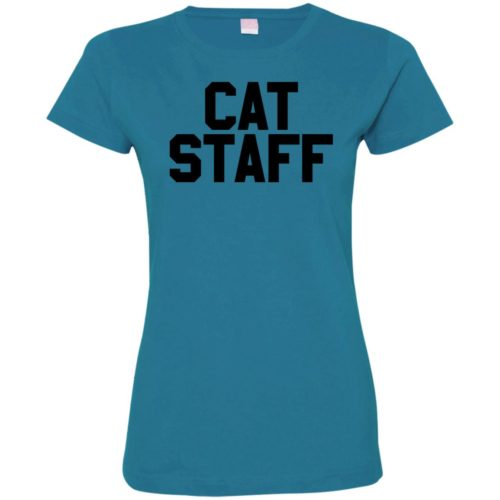 Cat Staff Ladies' Premium T-Shirt