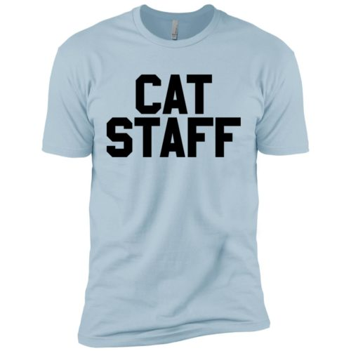 Cat Staff Premium T-Shirt