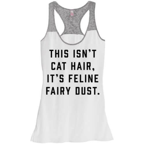 Feline Fairy Dust Varsity Tank