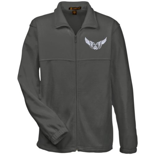 Second Chance Logo Embroidered Fleece Full Zip Jacket