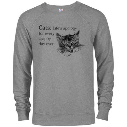 Every Crappy Day Premium Crew Neck Sweatshirt