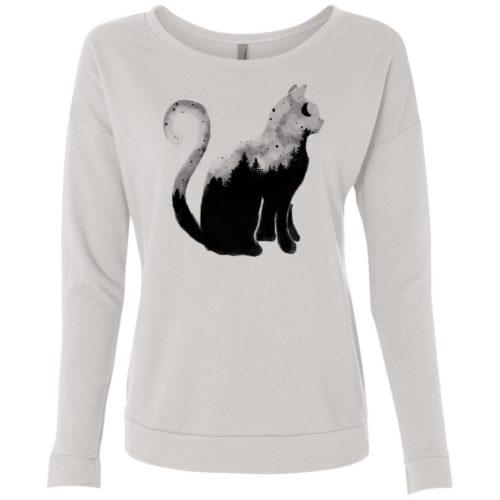 Cat Soul Scoop Neck Sweatshirt