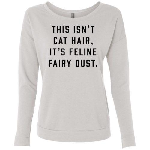 Feline Fairy Dust Scoop Neck Sweatshirt
