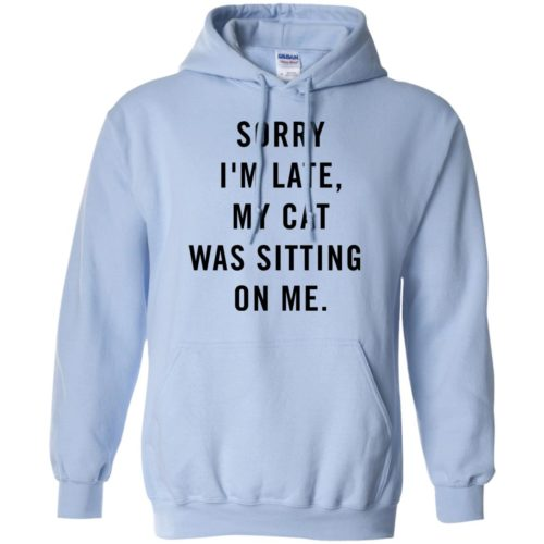 Sitting Cat Pullover Hoodie