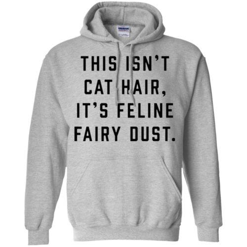 Feline Fairy Dust Pullover Hoodie