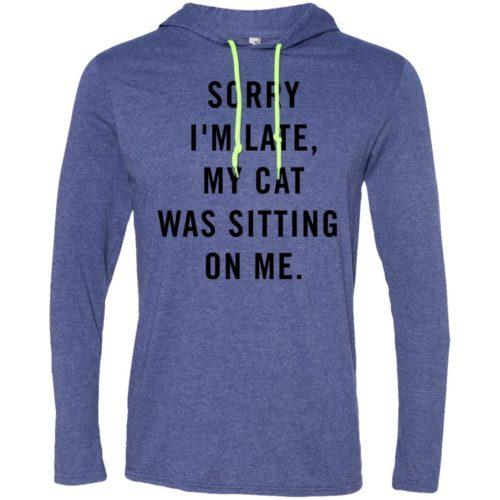 Sitting Cat T-Shirt Hoodie