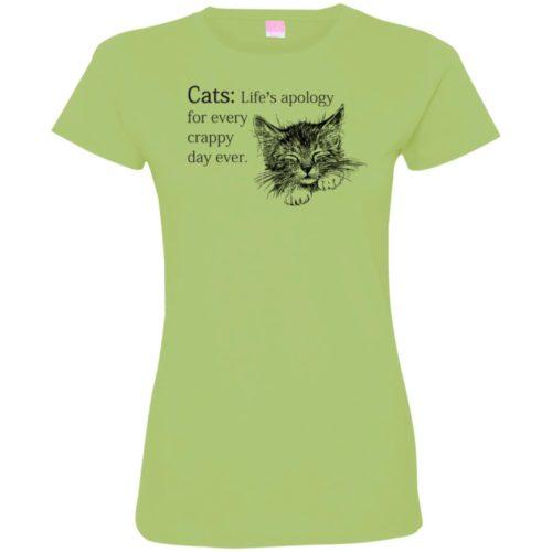 Every Crappy Day Ladies' Premium T-Shirt