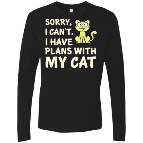 I Have Plans Premium Long Sleeve Shirt