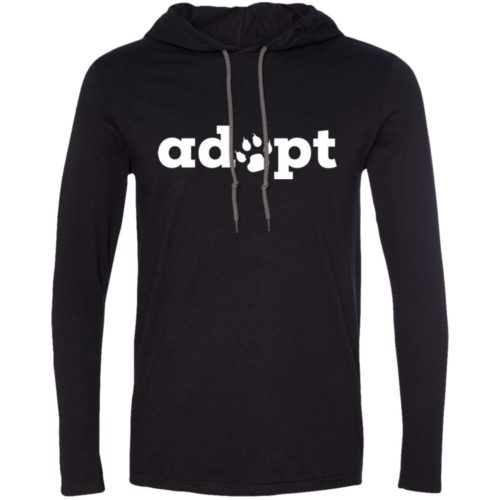 Adopt Paw T-Shirt Hoodie