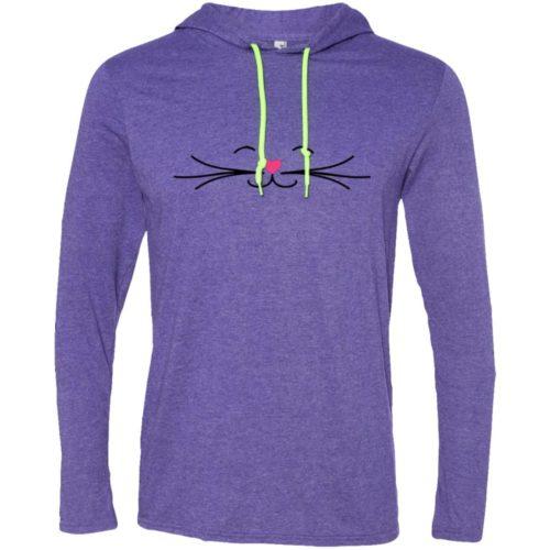 Smiling Cat T-Shirt Hoodie