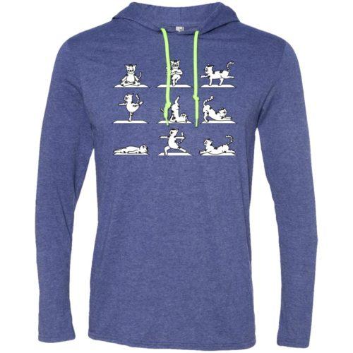 Cat Yoga T-Shirt Hoodie