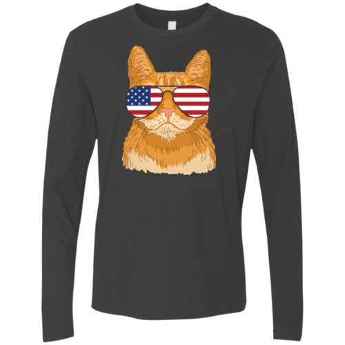 Cool Cat USA Premium Long Sleeve Tee