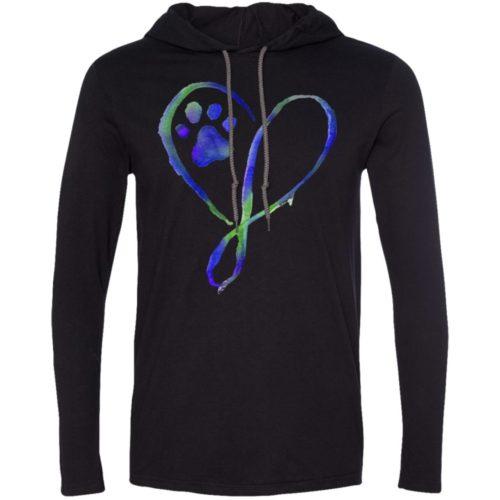 Elegant Heart T-Shirt Hoodie